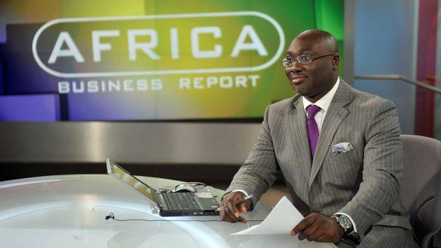 bbc africa business report presenter cantik