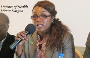 Miatta Kargbo - health minnster