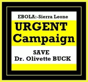 save Dr. Buck campaign