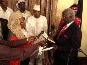president koroma sworn-in for second term