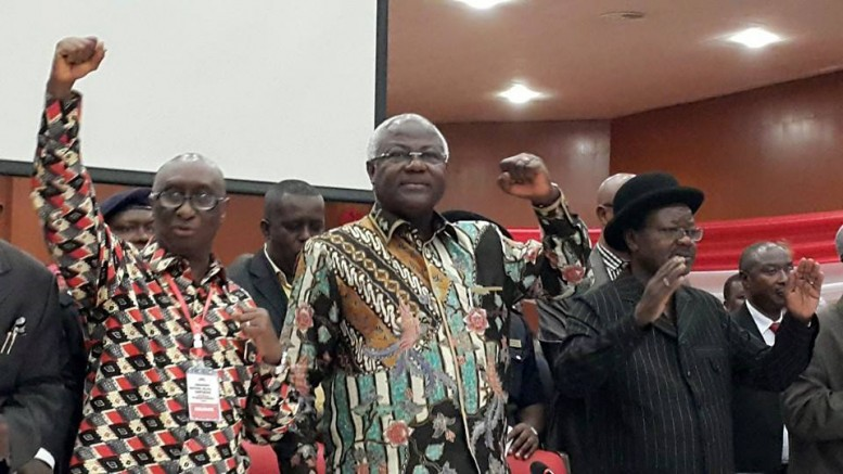President koroma and victor foh at APC conference 30 april 2015