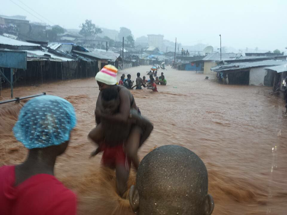 Freetown flooding 20153