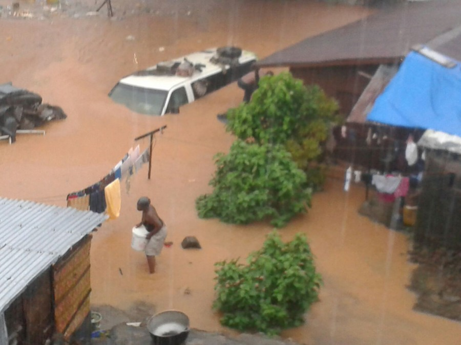 Freetown floods 20154