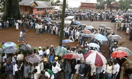 Election in Sierra Leone