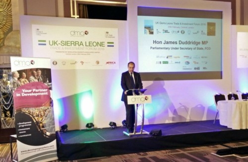 UK-Sierra Leone Investment Forum 2016