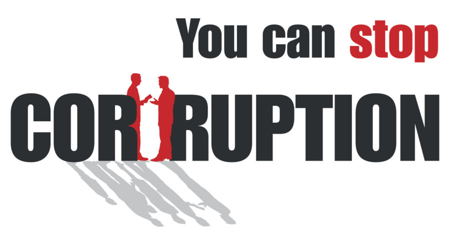 You can stop corruption