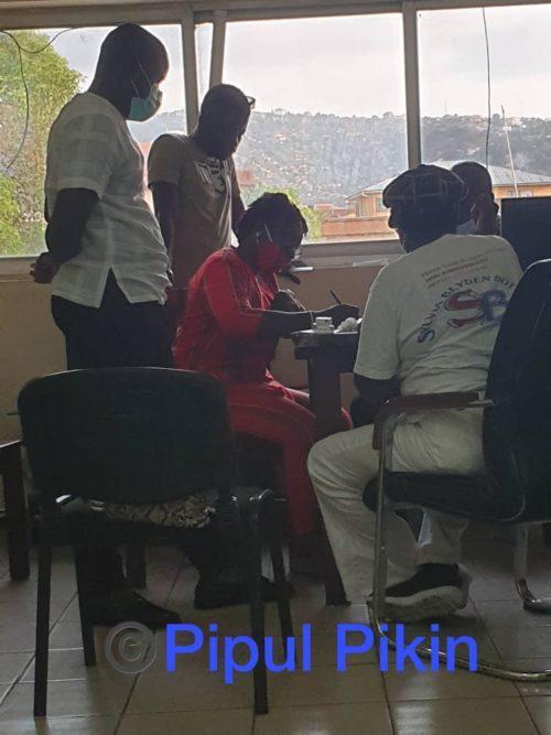 Sylvia Blyden In Police Custody 020520 Sierra Leone Telegraph